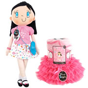 My Friend Huggles™ Doll, Blanket, & Tutu Set - Bia