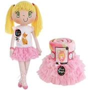 My Friend Huggles™ Doll, Blanket, & Tutu Set - Lily