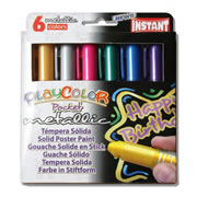 PlayColor® Pocket Tempera Paint Metallic Colors (6 Pack)