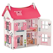 Madamoiselle Doll House with Furniture