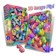 2-in-1 Sky & Sea 3-D Puzzle - 300 Piece
