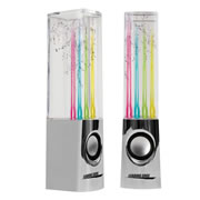 Dancing Water Speakers - Chrome