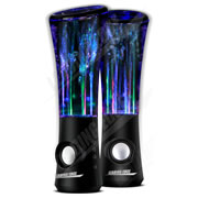Dancing Water Speakers with AC adapter - Black