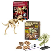 Dig A Dino & Glow Fossil Kit