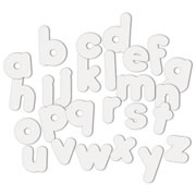 WonderForm Peel & Stick Lower Case Letters