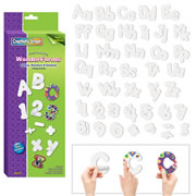 WonderForm Peel & Stick Mega Pack (Letters & Numbers)