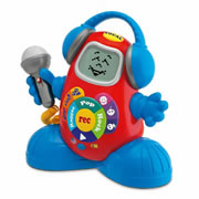 Talking DJ Talking Karaoke Toy