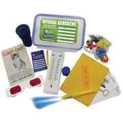 Geocaching Partycaching Spy Kit