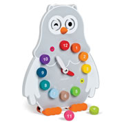 Owl Time Teaching Clock