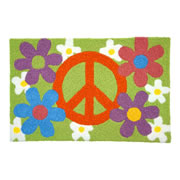 Jellybean Rug - Peace and Love (C) - Washable