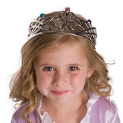 Silver Crown Dress-Up Accessory