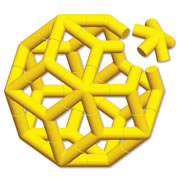 Star Ball  - Yellow