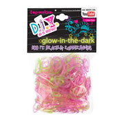 Glow in the Dark Loom Bands & Clasps