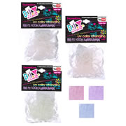 Color Changing Loom Rubber Bands with Clasps