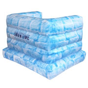 Snowtime Anytime Inflatable Snow Fort