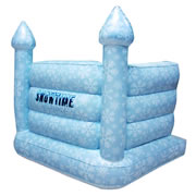 Snowtime Anytime Inflatable Snow Castle