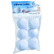 Snowtime Anytime Snowballs - 6 Pack