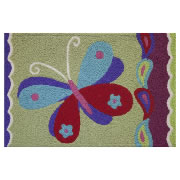 Jellybean Rug - Pop Butterfly (C) - Washable