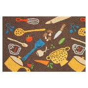 Jellybean Rug - Funky Kitchen Toss - Washable