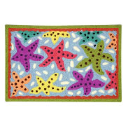 Jellybean Rug - Sensational Starfish (C) - Washable