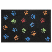 Jellybean Rug - Paw Prints - Washable