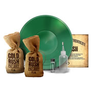 Gold Rush Panning Kit & 1lb Refill Bag