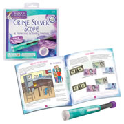 Nancy B's Science Club Crime Solver Scope & Forensic Activity Journal