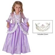 Royal Rapunzel Princess Dress & Crown