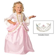Pink Parisian Princess Dress & Crown