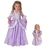 Royal Rapunzel Dress & Doll Dress