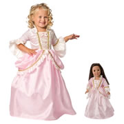 Pink Parisian Dress & Doll Dress