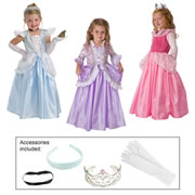Princess Dress-Up Set & Accessories