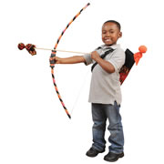 Bow & Arrow Quiver Set - Tye Dye Flame