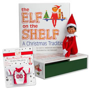 Elf On The Shelf - (Boy - Dark) & Game Day Jersey