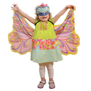 Dreamy Dress-ups Fantasy Rainbow Fairy Wing