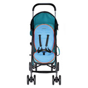 Cooling Stroller Pad - Blue/Grey