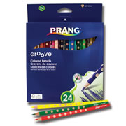Prang© Lyra Groove Colored Pencils - 24 Pack