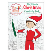 Elf on the Shelf® Holiday Creativity Coloring Book