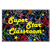 Super Star Welcome Mat 2' x 3' (Washable)