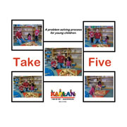 Take 5 Problem Solving Book for Children