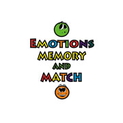 Emotions Memory and Match Set (20 Cards)