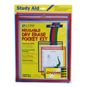 Dry Erase Pocket Study Aid Kit (9 x 12)