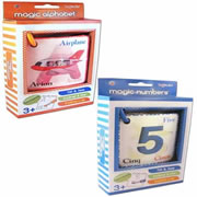Magic Alphabet & Number Flash Cards Set