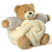 Small Chubby Bear- Cream