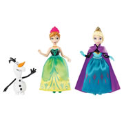 Disney - Frozen Small Doll Character Pack