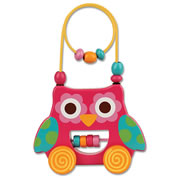 Wire & Bead Toy Owl