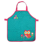 Steven Joseph Quilted Apron - Owl