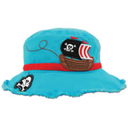 Young Child's Pirate Bucket Hat