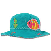 Young Child's Fish in the Sea Bucket Hat