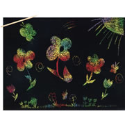 Scratch Art - Sparkle Multi Color (30 Sheets)